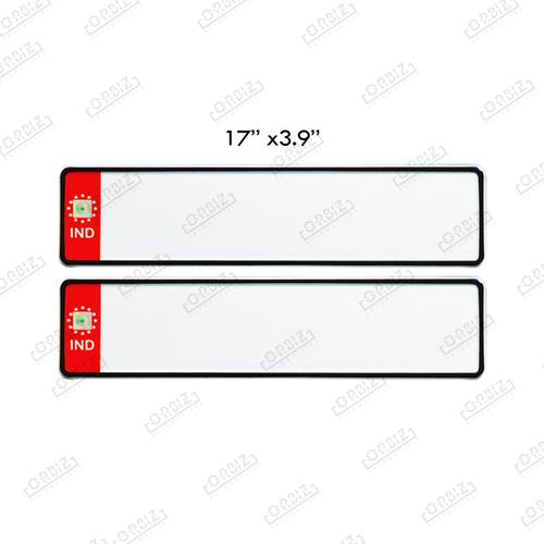 Ind Number Plate Design