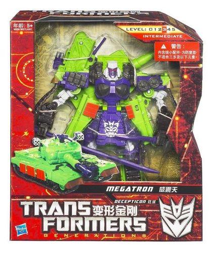 Hasbro Transformers Generations GDO Asia Exclusive Voyager Megatron