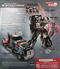 Transformers Advanced Black Knight Optimus Prime