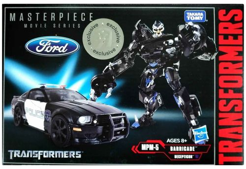 Takara Transformers Masterpiece MPM-5 Barricade Police Car