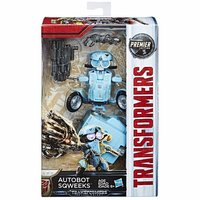 Hasbro Transformers MV5 The Last Knight Deluxe Autobot Sqweeks #In Stock