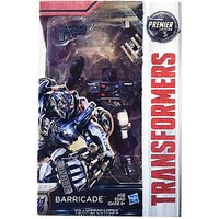 Hasbro Transformers MV5 The Last Knight Deluxe # Barricade Action Figure