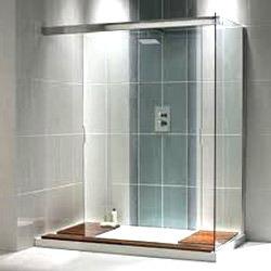 Glass Shower Panel