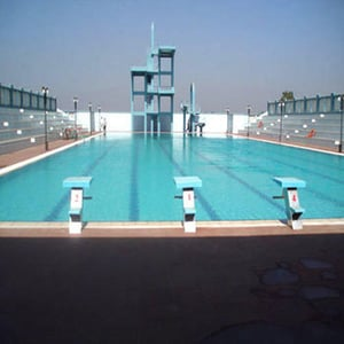 Swimming Pool in Stadium