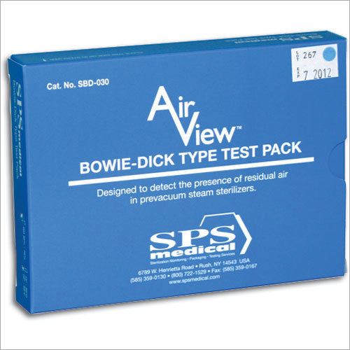 Bowie Dick Test Pack