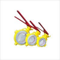 PP Lined Butterfly Valve
