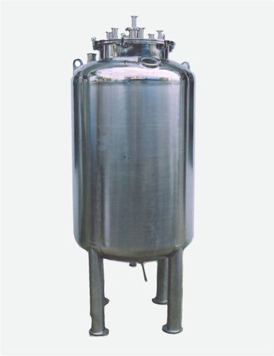 W. F. I. Storage Tanks / Jacketed Vessels