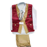 Kids Waistcoat Suits