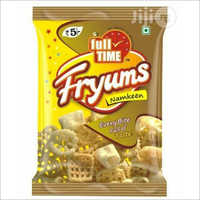 Fryums Packaging Pouch Center Seal