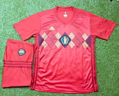 Football Jersey Spain Belgium Argentina