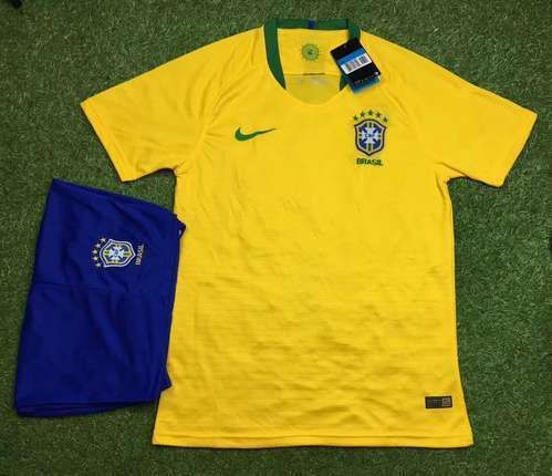 Football Jersey Brazil Home Away Kit