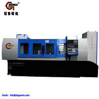 Gun drilling machine for thermocouple