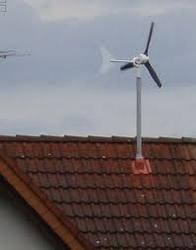 Rooftop Wind Electric Generator