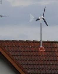 Rooftop Wind Electric Generator