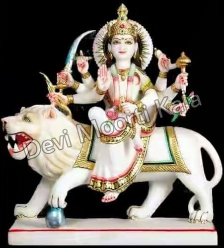 Durga Mata Statue White