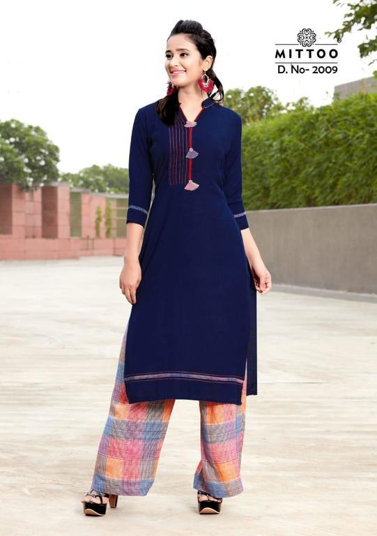 Beautiful Kurti & Plazzo
