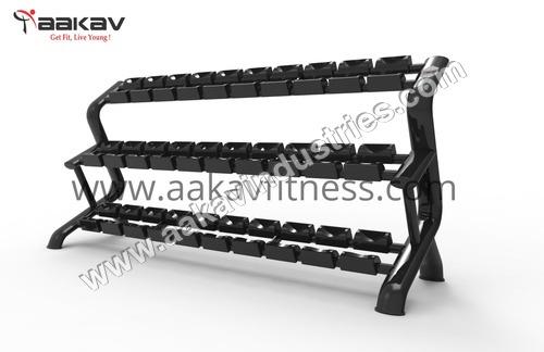 Dumbbell Rack (15 Pair)  X5 Aakav Fitness