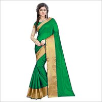 Cotton Silk Plain Saree