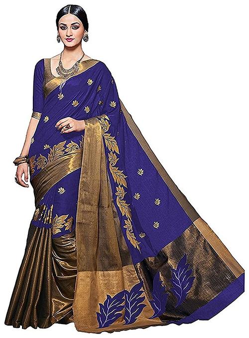 Beatiful Design in Cotton Silk Sarees