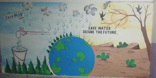 Dlf Save Water Wall Art In Delhi Ncr Manufacturer And Supplier