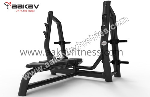 Olympic Flat Bench X5 Aakav Fitness