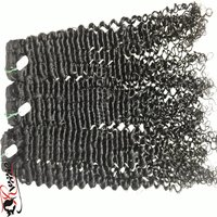 Curly Extensions Human Hair Weft