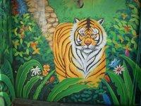 Jungle Wall Painting