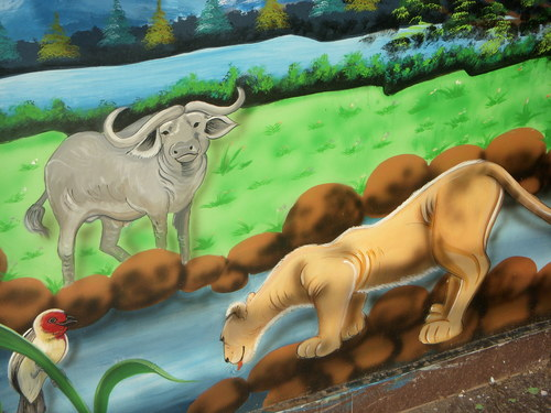 Jungle Wall Painting In Delhi Ncr Manufacturer And Supplier