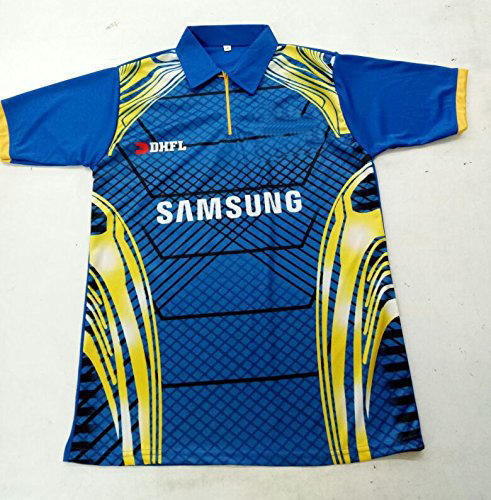 Mumbai Indians IPL 2018 Jersey for Men with All Logo