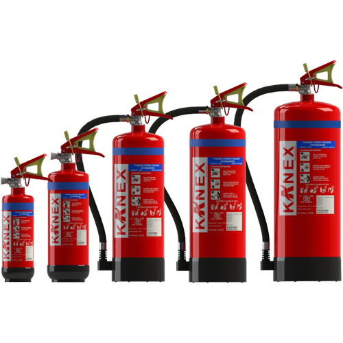 Powder Stored Pressure Fire Extinguishers