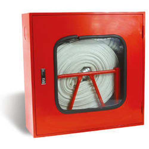 Single Door Fire Hose Box