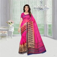 Fancy Printed Super Net Saree