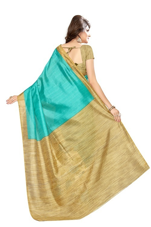 Printed Bhagalpuri Fancy Sarees