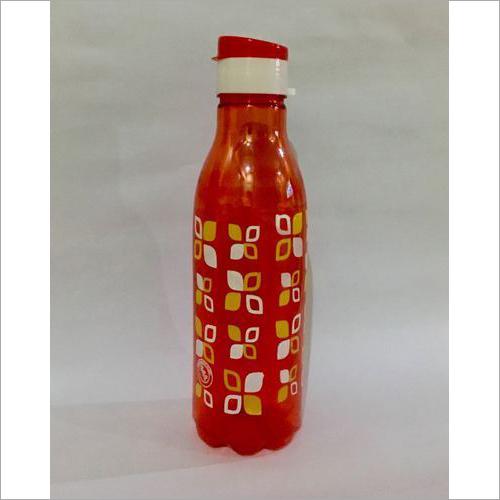 Leaves Printed Plastic Pet Bottle
