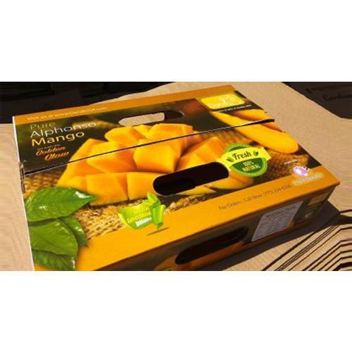 Mango Packaging Corrugated Box