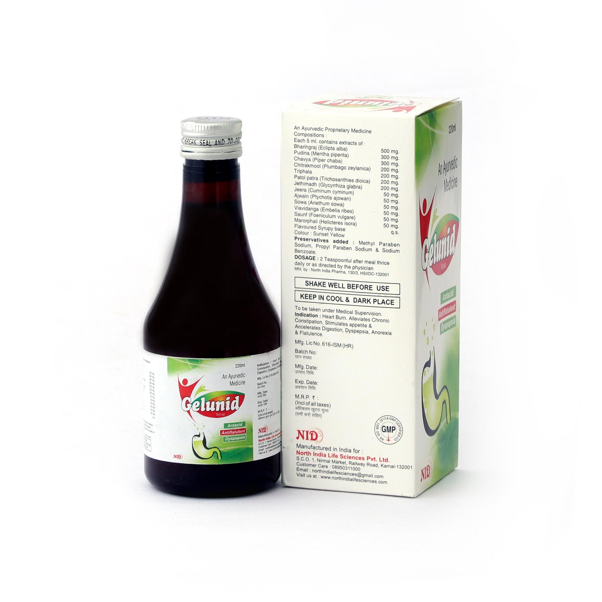 Ayurvedic Acidity Syrup