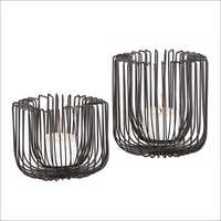 2113 Caged Candle Holder