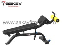 Adjustable Abdominal Bench X1 Aakav Fitness