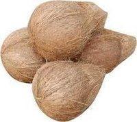 Natural Semi Husked Coconut