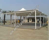 Gazebo And Conical Tensile