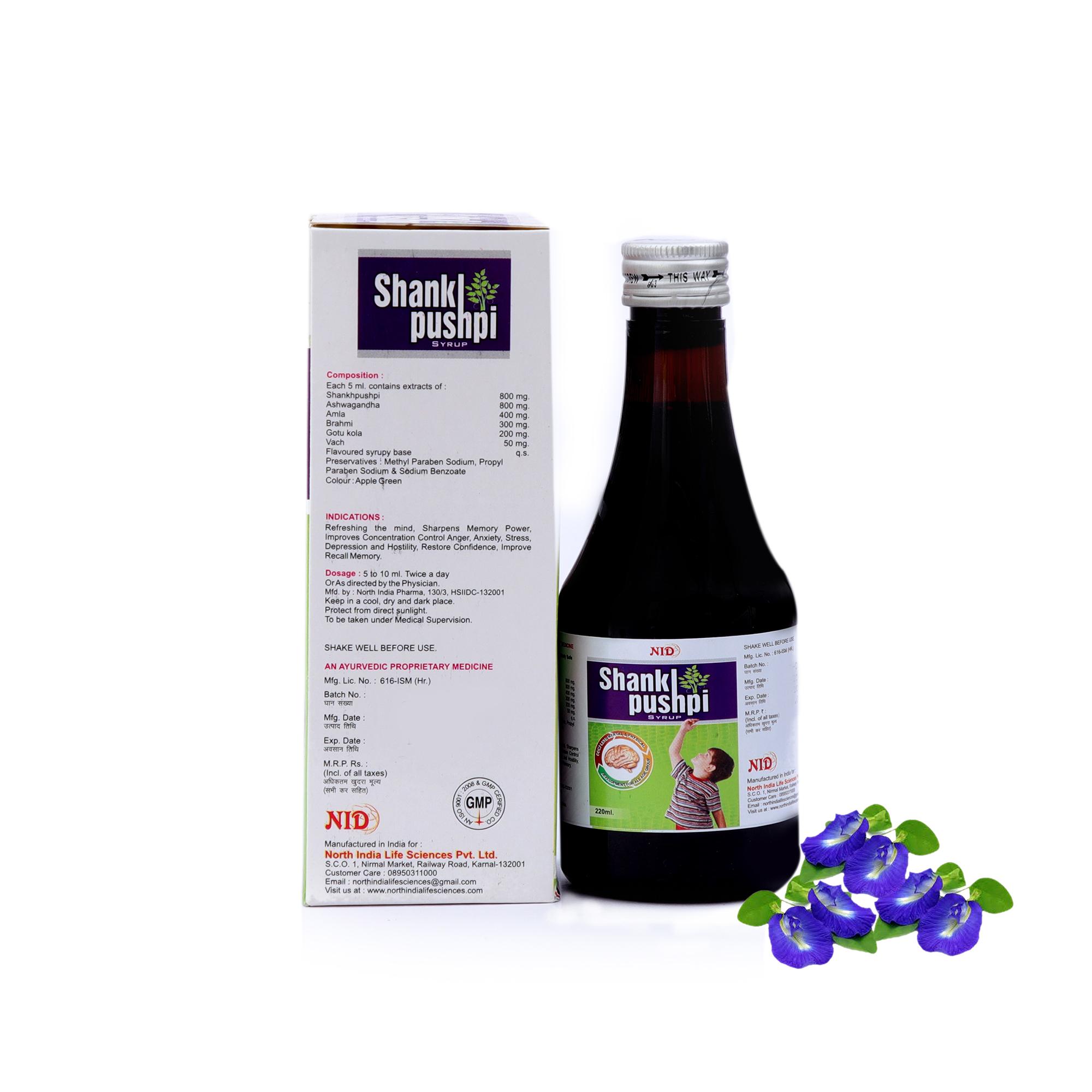 Shankhpushpi Syrup