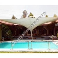 Fabric Swimming Pool Shed