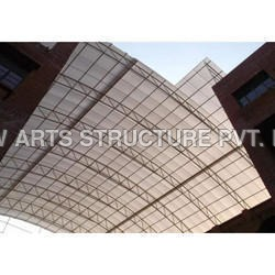 School Polycarbonate Shed Structure