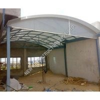 Polycarbonate Shed Structure