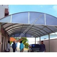 Hospital Polycarbonate Shed Structure