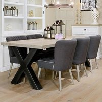 Houston Six Seater Dining Table