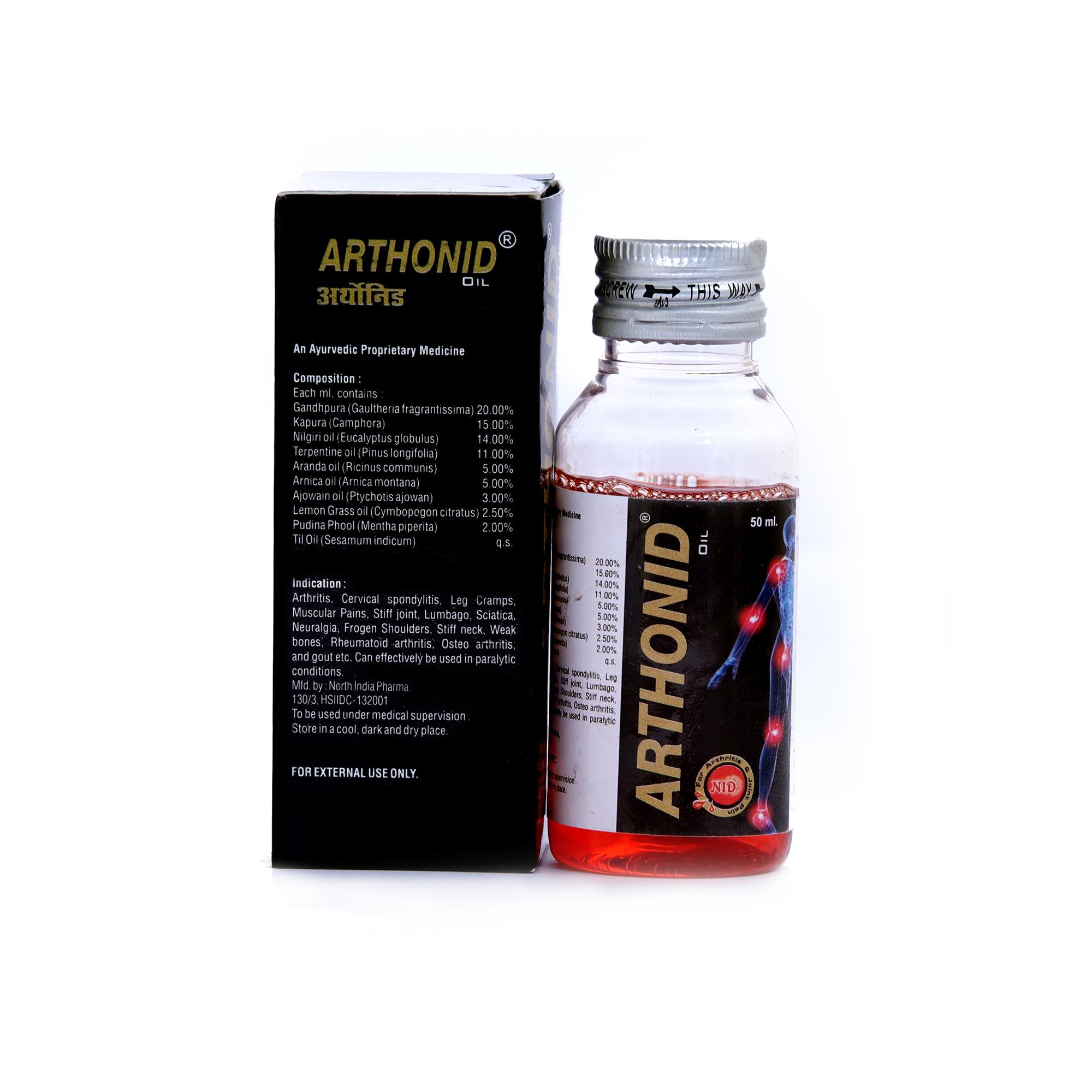 Ayurvedic Joint Pain Oil