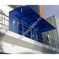 Polycarbonate Awning Structure