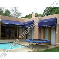 Plain Outdoor Awnings Structure