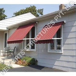 Drop Arm Window PVC Awning